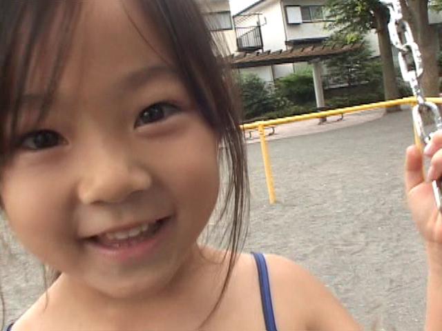 U12JSジュニアアイドル寧々ちゃんの笑顔アップ