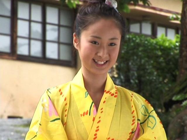 浴衣姿のU15JCジュニアアイドル小池凛ちゃん