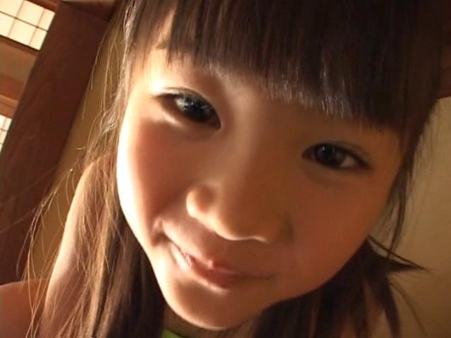 U12JSジュニアアイドル三浦璃那ちゃんのお顔アップ